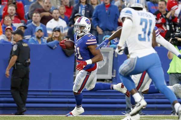 Fantasy Slant: Bills Move on from RB Jonathan Williams