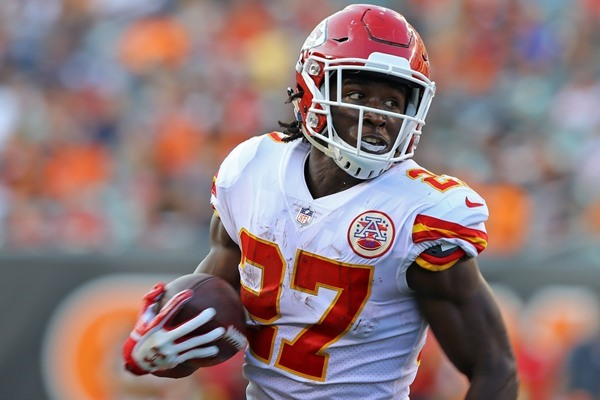Fantasy Football Week 1: Chiefs Could Use Running Back by Committee Approach Against Patriots