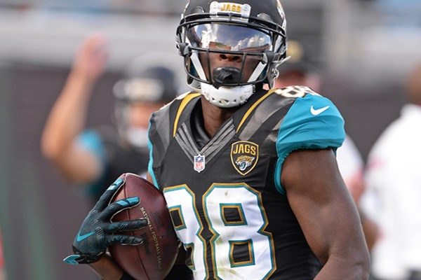 Fantasy Football Week 1: Allen Hurns Opens Season as Jaguars No. 4 Receiver