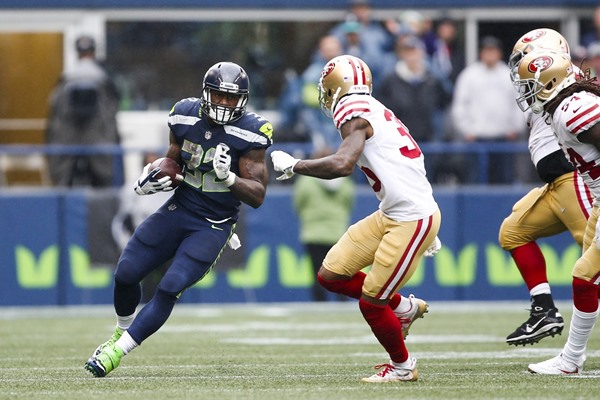 Seahawks' Chris Carson Joins Elite Rookie Running Back Group