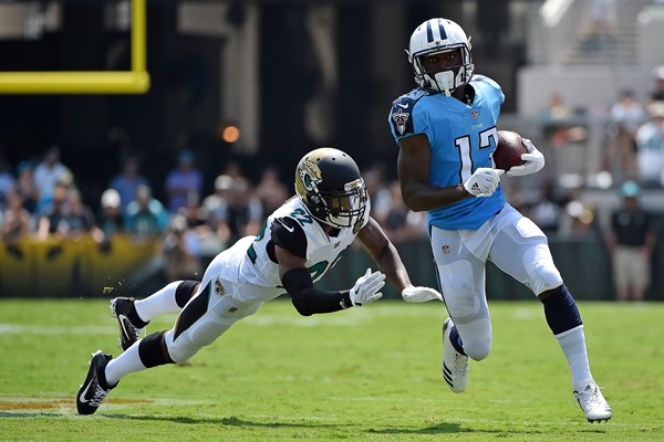 """Report: Titans WR Taywan Taylor to see """"Significant Role Increase"""" in Week 3"""