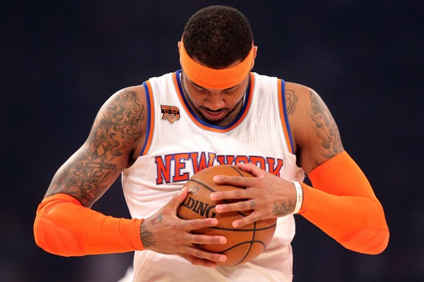 Knicks SF Carmelo Anthony Traded to Oklahoma City Thunder