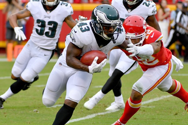Eagles' RB Darren Sproles Lost for Season with Torn ACL, Broken Arm
