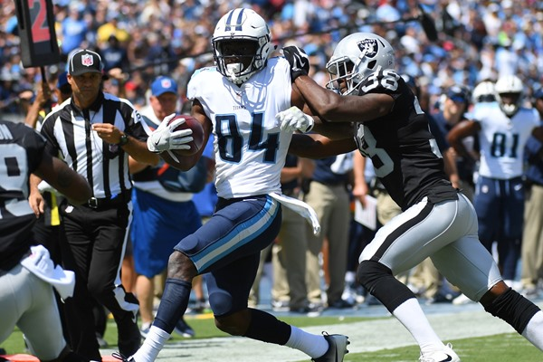 Fantasy Slant: Titans WR Corey Davis Out for Week 7, Nearing Return