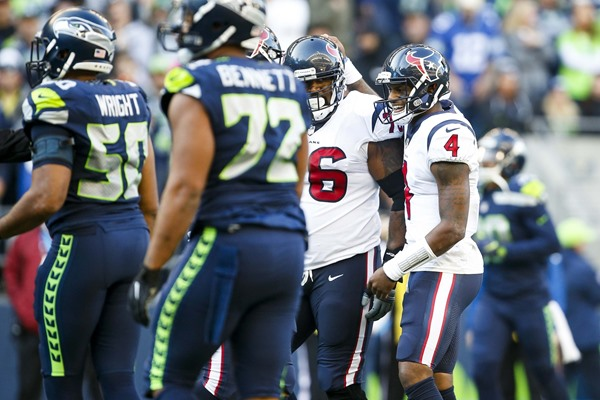 Texans OT Duane Brown Traded to Seattle Seahawks