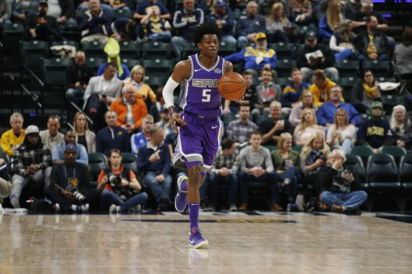 Fantasy Impact: Kings PG George Hill Out on Saturday, De'Aaron Fox to Start
