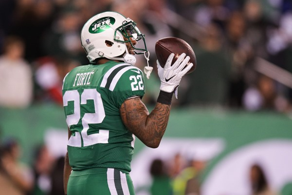 Fantasy Impact: Jets RB Matt Forte Ruled Out for Week 10