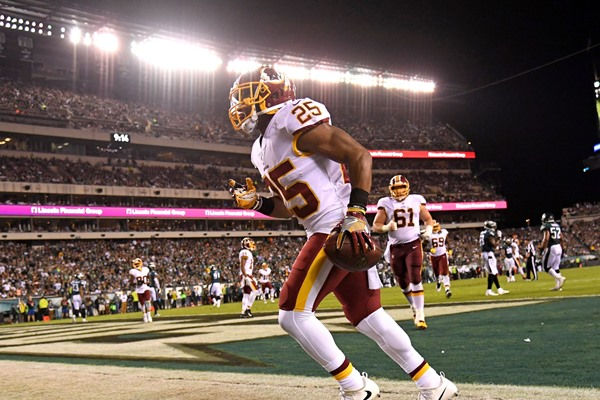 Fantasy Impact: Washington RB Chris Thompson Suffers Fractured Fibula