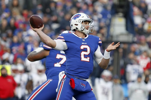 Fantasy Impact: Bills QB Nathan Peterman to Start on Sunday