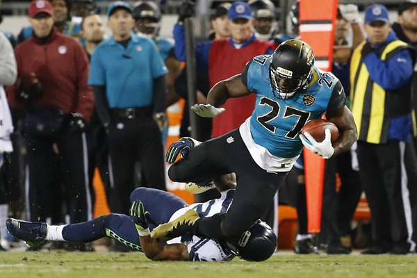 Jaguars RB Leonard Fournette Ruled Out for Week 15