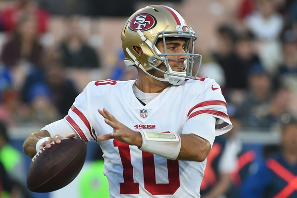 Fantasy Spin: 49ers and QB Jimmy Garoppolo Agree to Five-Year, $137.5M Contract