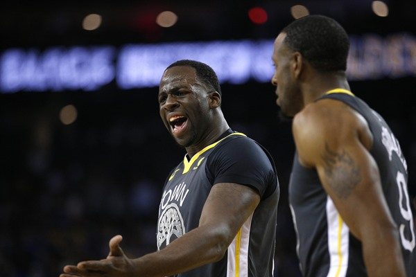 Fantasy Spin: Warriors PF Draymond Green  to Miss Monday's Game