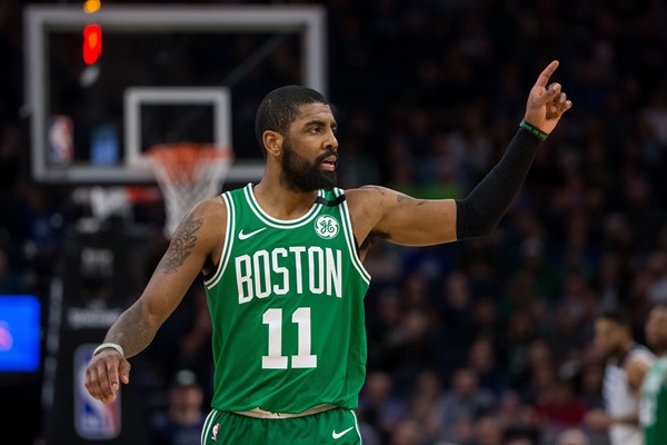 Fantasy Spin: Celtics PG Kyrie Irving (knee) Expected to Miss Week