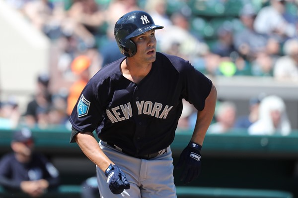 Fantasy Spin: Yankees 1B Greg Bird Out Six-to-Eight Weeks