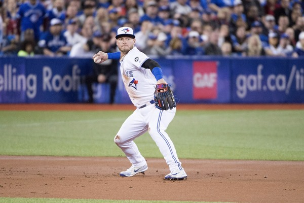 Fantasy Spin: Blue Jays 3B Josh Donaldson to Play DH for Next Few Games