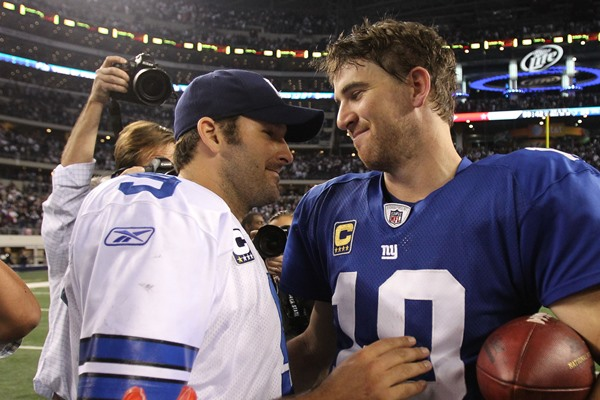 Fantasy Football: Tony Romo vs Eli Manning