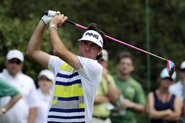 Masters: Bubba Watson Is Three Clear At The Top Of A Varied Leaderboard At Augusta