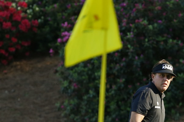 Bubba Watson Leads But Phil Mickelson and a Host of Big Names Miss Masters Cut