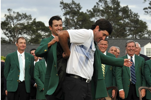Bubba Watson Outdueled 'The Kid' Wins Second Green Jacket