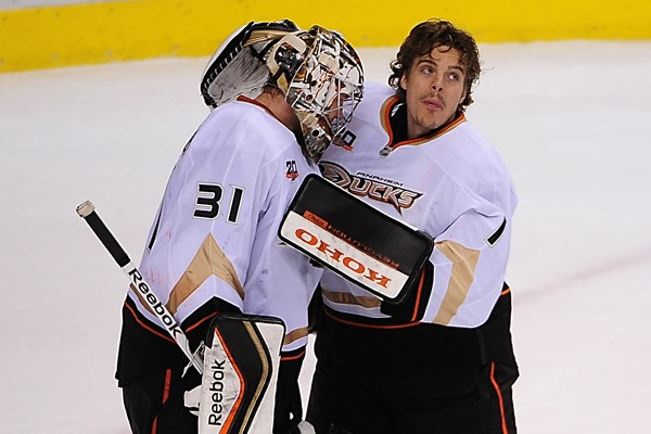 Jonas Hiller's Time Is Up In Anaheim
