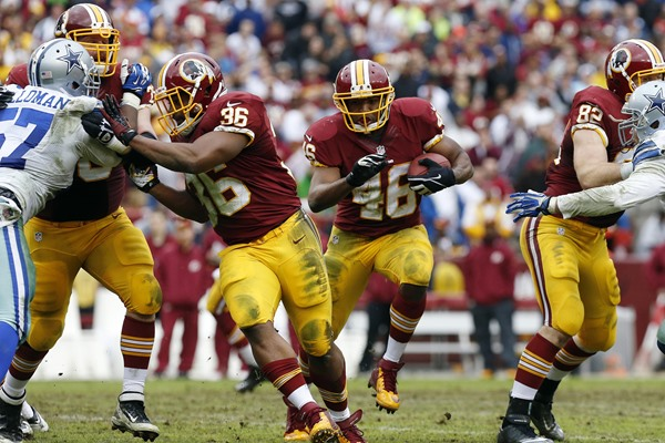 Current Washington Redskins Starting Offense