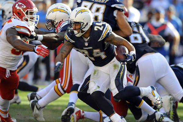 2014 Fantasy Football Preview, San Diego Chargers