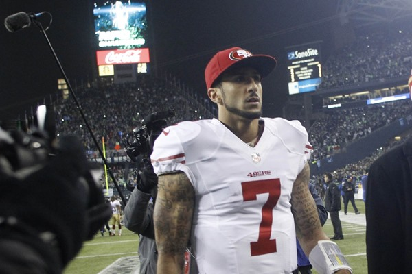 What Makes Colin Kaepernick Crumble Against the Seahawks