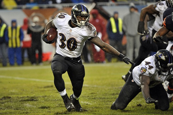 Can Bernard Pierce Shoulder the Load in Baltimore?