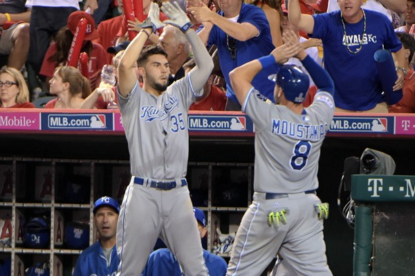 ALDS Game 2: Royals at Angels Preview