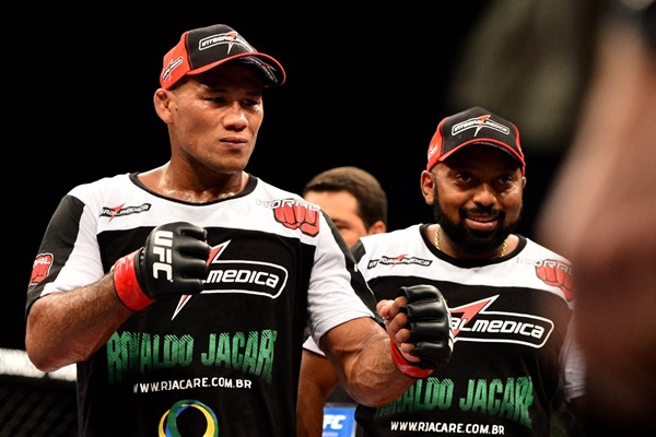 Coach: Let's Make 'Jacare' Souza vs. 'Hendo' Fight at 205 Pounds in February