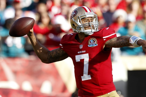 Fantasy Football Week 15: Tom Brady vs. Colin Kaepernick
