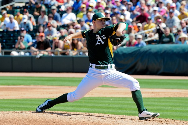 How the Oakland A's Starting Rotation is Shaping Up