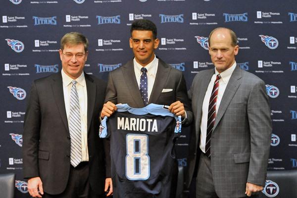Fantasy Slant: Marcus Mariota to the Titans