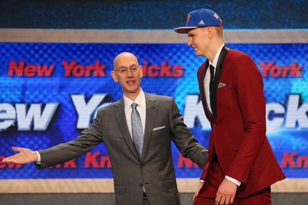 NBA Draft Profile Kristaps Porzingis - New York Knicks