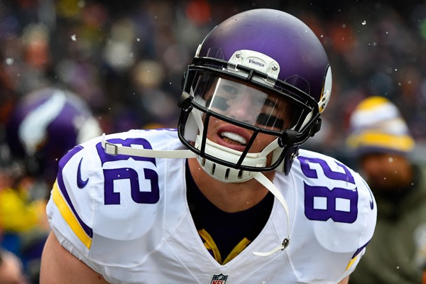 Interview with Minnesota Vikings TE Kyle Rudolph