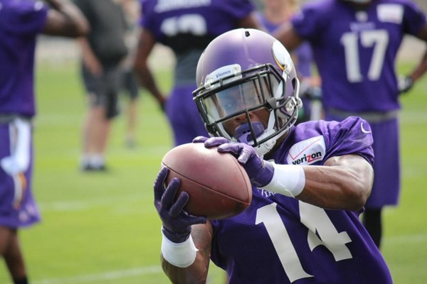 2015 Minnesota Vikings Training Camp: Stefon Diggs Making Waves