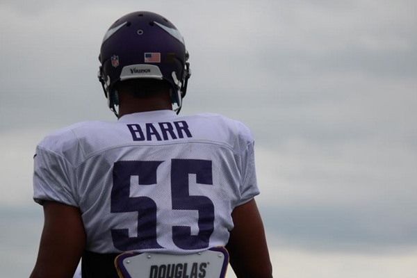 Interview with Minnesota Vikings LB Anthony Barr