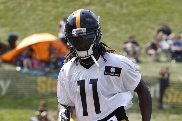 Markus Wheaton to Start Over Martavis Bryant for the Pittsburgh Steelers