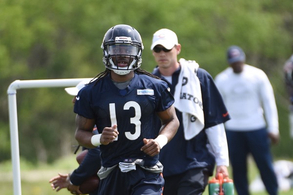 Chicago Bears WR Kevin White Still Sidelined