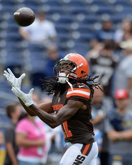 Travis Benjamin - Cleveland Browns