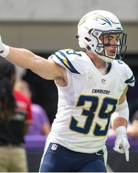 Danny Woodhead - Los Angeles Chargers